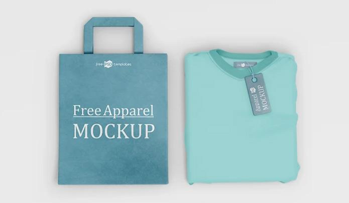 Free PSD Apparel Mockups