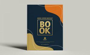 Free (PSD) Cover Branding Book Mockup