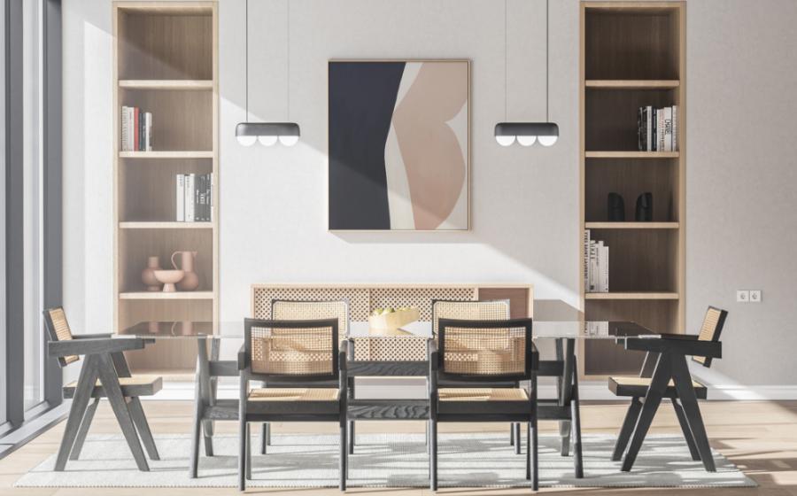 Free (PSD) Modern Interior Poster Mockup