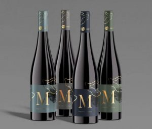 Free Wine Bottle Mockup Set