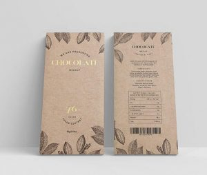 Free Chocolate Packaging Mockup Set