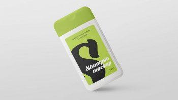 Free Plastic Shampoo Bottle Mockups