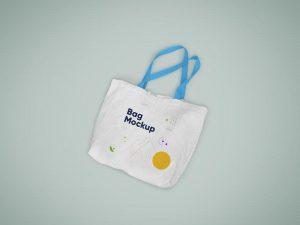 Free Tote Bag Mockup (PSD )