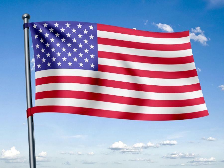 Free Waving Country Flag Mockup