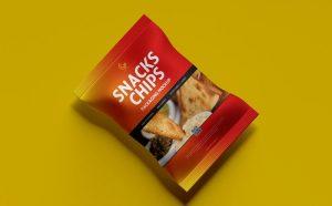 Snacks Chips Packaging Free Mockup