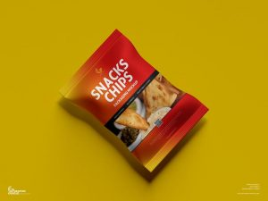 Snacks Chips Packaging Free Mockup