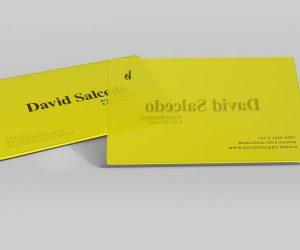 Transparent Business Card Free (PSD) Mockups