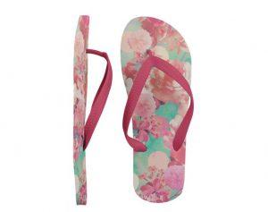 Women's Flip Flop Free (PSD) Mockup