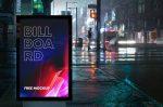 Free Billboard Advertising Mockup (PSD)