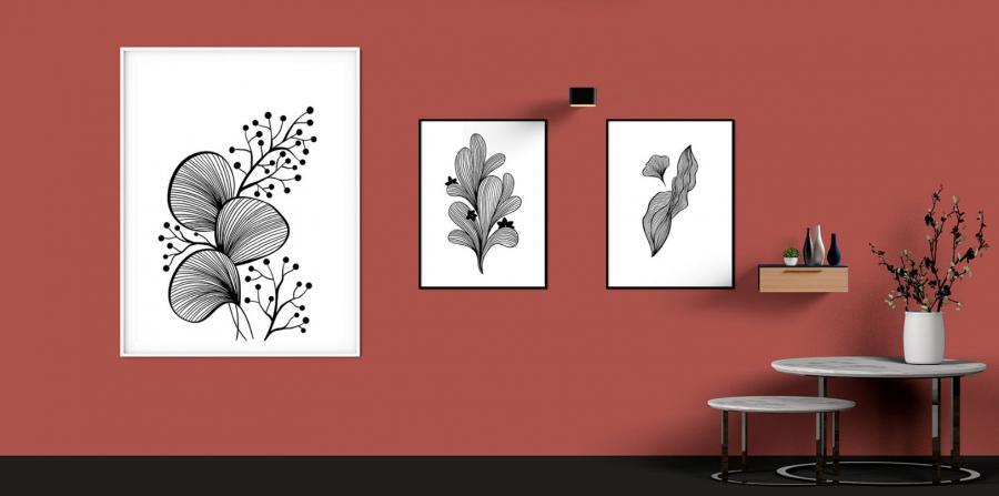 Free Interior Wall Poster Mockup (PSD)