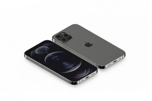 Free Isometric iPhone 12 Pro Mockup