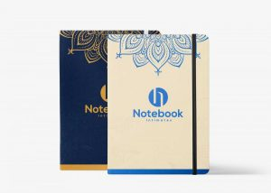 Free PSD Journal Notebook Mockup