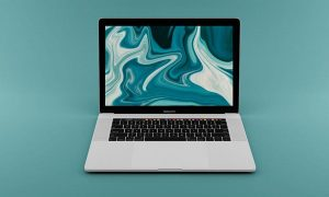 Free PSD Macbook Pro Mockup