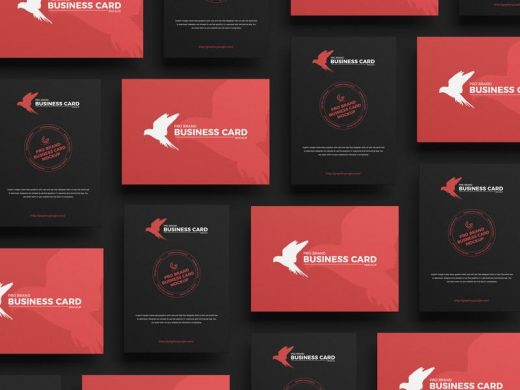 Free PSD Pro Brand Business Card Mockups