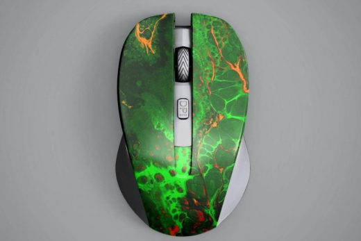 Wireless Mouse Free PSD Mockup