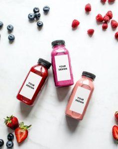 Yogurt Bottles Free Mockup Template