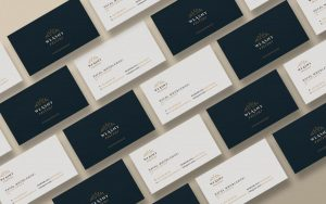 Free Business Cards Stationery Mockup