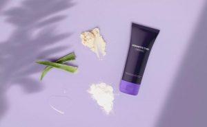 Free Cosmetic Tube Scene Mockup (PSD)