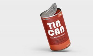Free Tin Can Mockups (PSD)