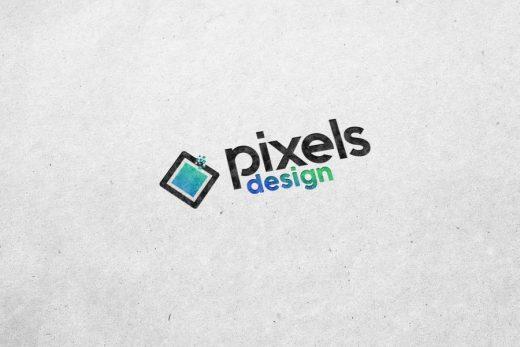 Free White Paper Logo Mockup (PSD)