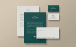 Stationery Identification Free Mockup (PSD)