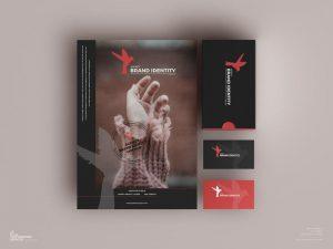 Free Agency Brand Identity Mockup (PSD)