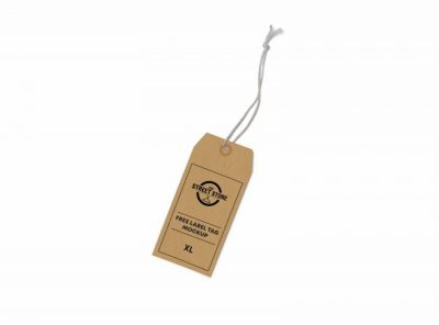 Label Tag Free Mockup (PSD)
