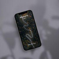 iPhone 12 PRO Scene Free Mockup (PSD)