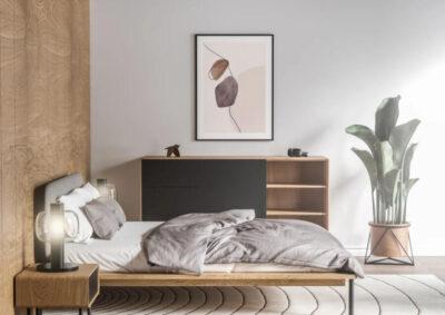Free Room Interior Poster Mockup (PSD)