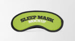 2 Free Sleep Mask Mockups