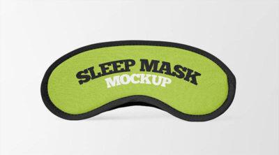 2 Free Sleep Mask Mockups