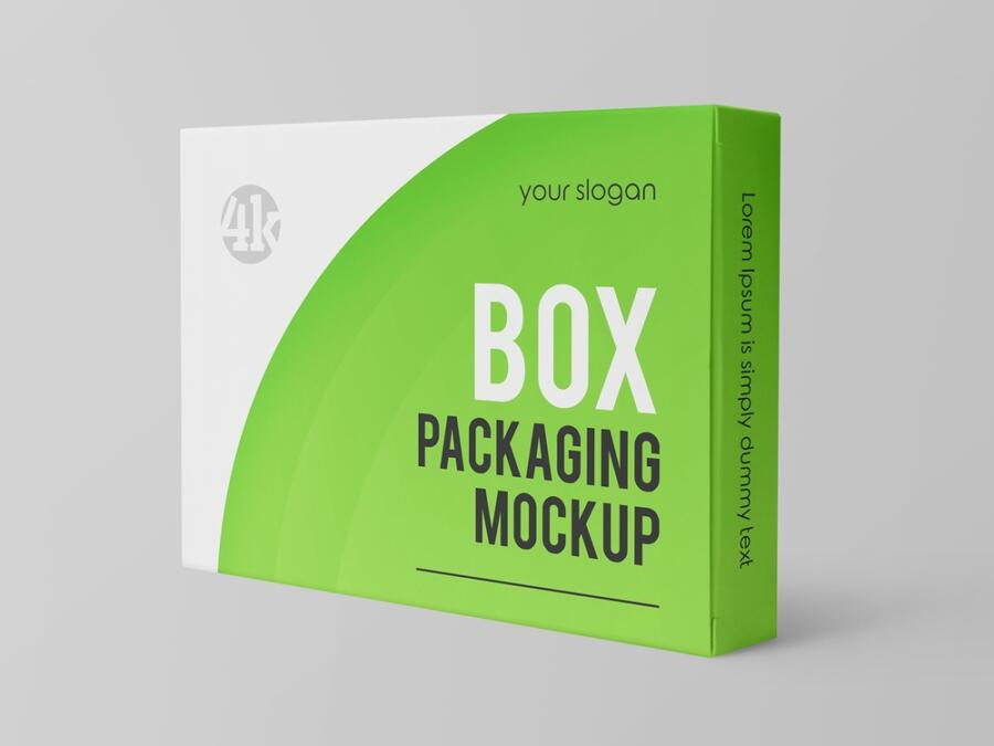 Free 3 Box Packaging Mockup Set