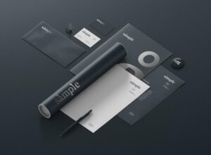 Free Basic Stationery Mockup (PSD)
