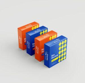 Free Box Mockups (PSD)