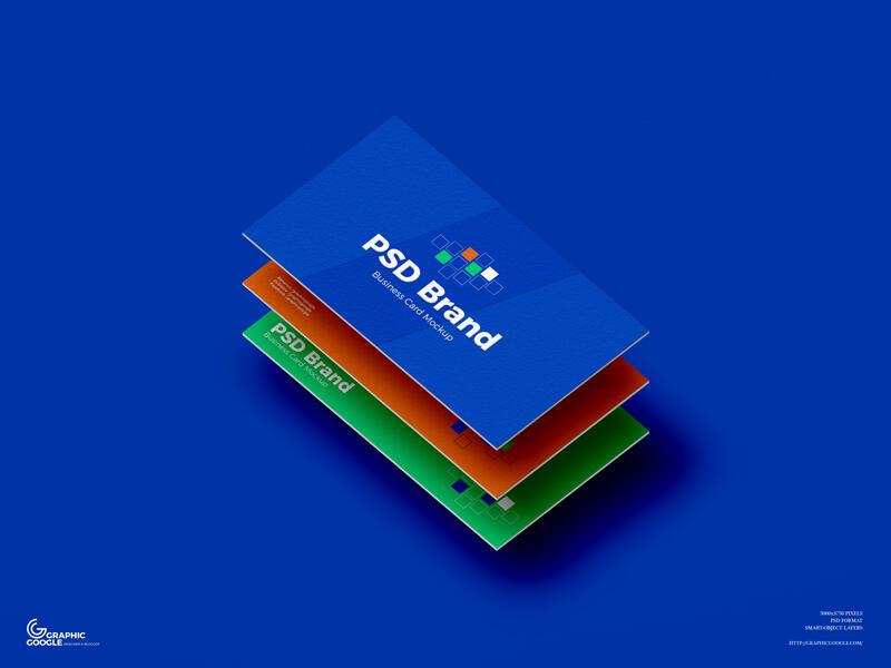 Free Brand Business Card Mockup (PSD)