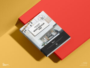 Free Branding Letter Size Book Mockup
