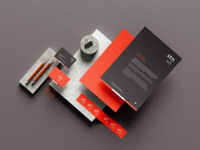 Free Branding Stationery Set Mockup