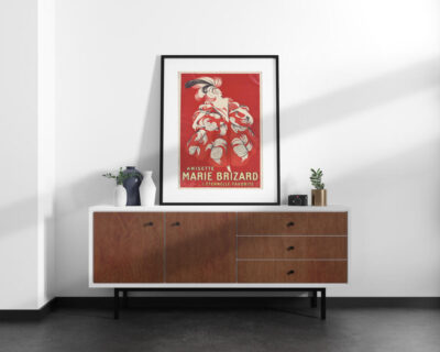 Free Minimalist Interior Poster Mockup