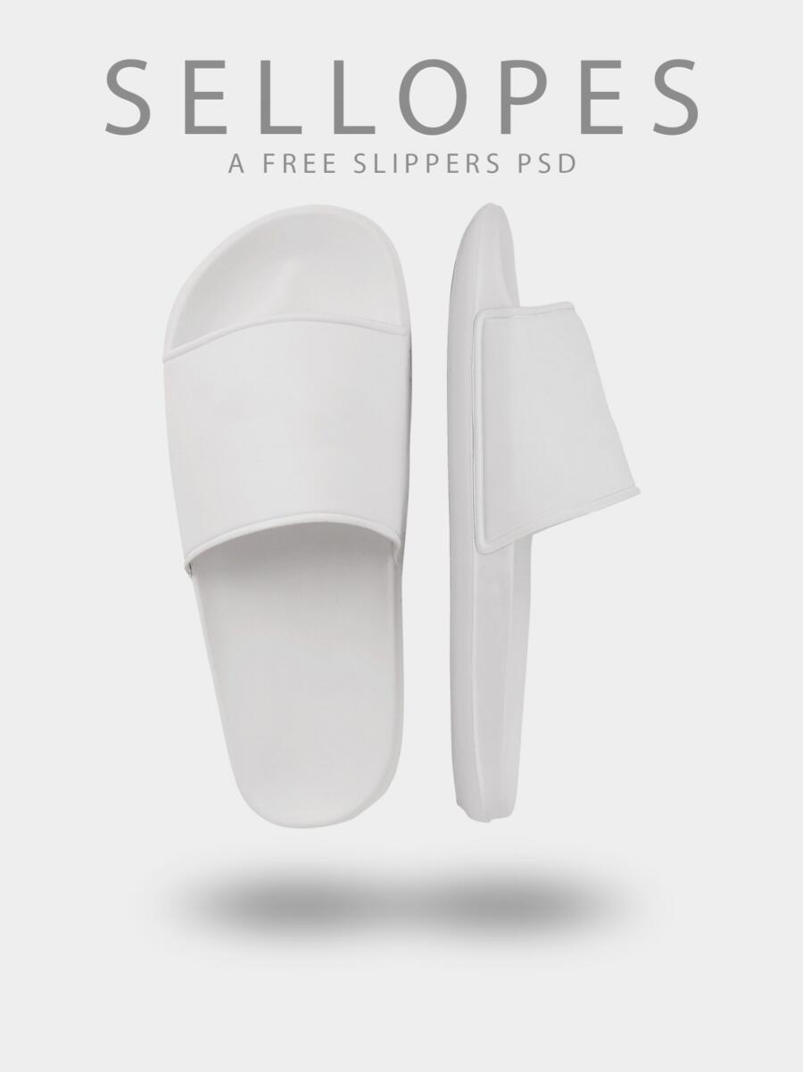 Free Slippers Mockup (PSD)