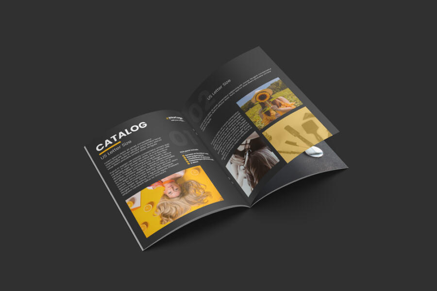 Open Product Catalog Free Mockup