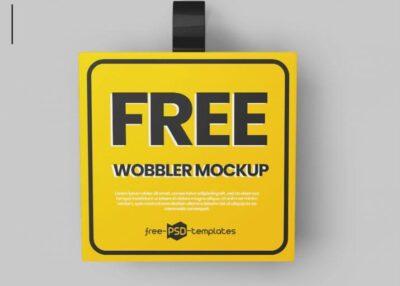 Shelf Wobbler Free Mockups (PSD)