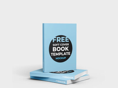 Soft Cover Book Free Mockup