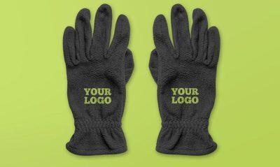 2 Free Glove Free Mockup