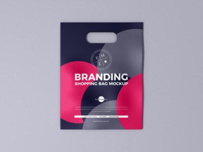 Free Branding Shopping Bag Mockup