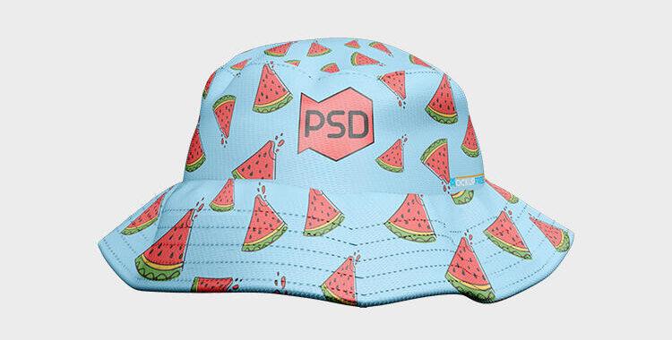 Free Bucket Hat Mockup (PSD)
