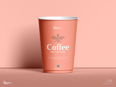 Free Coffee Paper Cup Mockup (PSD)