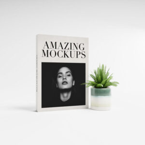 Free Hardcover Book Set Mockup