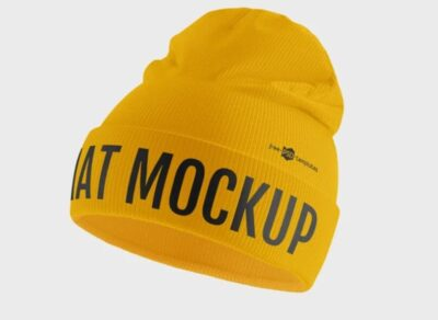 Winter Hat Free Mockup (PSD)