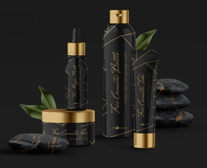 Beauty Cosmetic Products Free Mockup