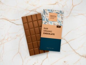 Chocolate Bar Packaging Free Mockup